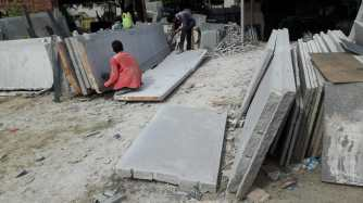 Preparing Granite Benches 75mm thickness Ahmedabad Gujarat India Export (1)